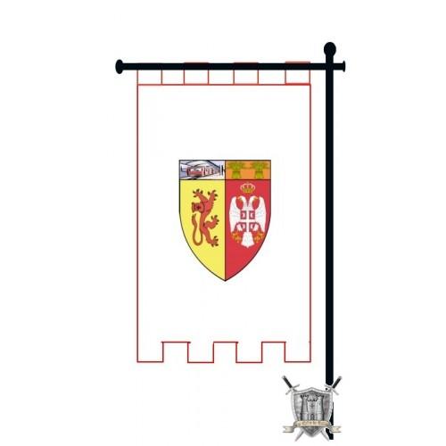 ETENDARD sur mesure armoiries personnalisées