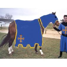 tunique et caparaçon laurent bleu