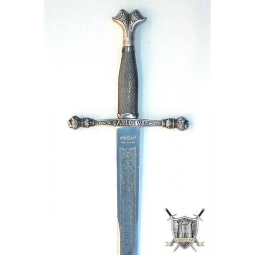 épée médiévale Charles Quint