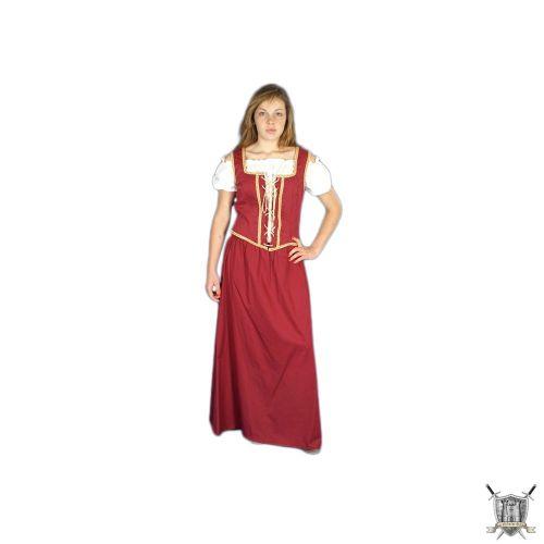 habit medieval paysanne