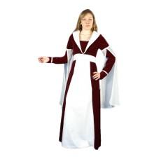 vêtement   médiéval dame Sancha