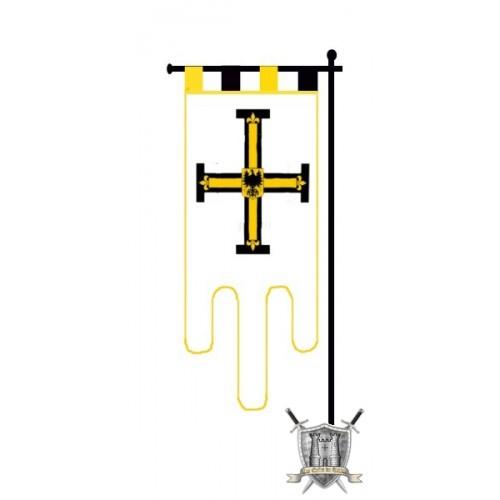 etendard sur mesure à la croix et à l'aigle