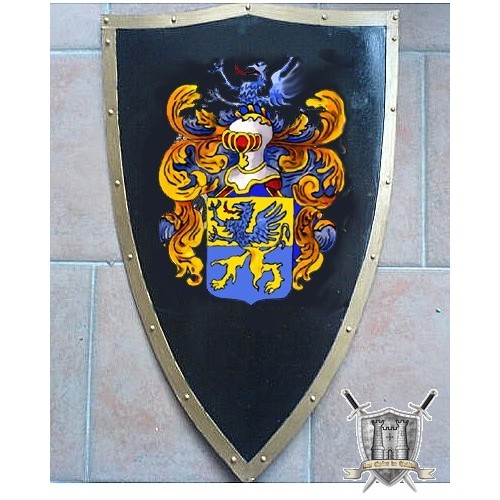 ecussonen acier artisanal avec armoiries