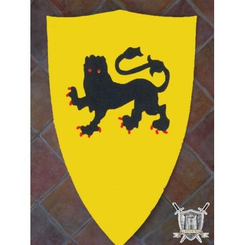 ercusson jaune au lion