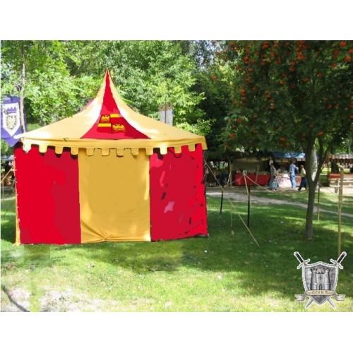 tente fête medievale de villeneuve loubet