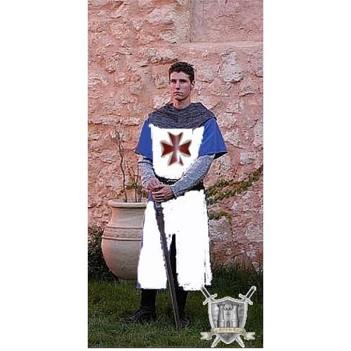 tunique du chevalier de toulouse avec blason