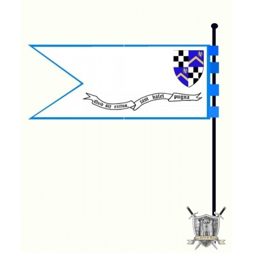 banniere horizontale pour lance de cavalier