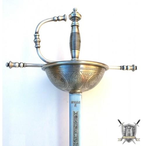 rapière acier de duel 105 cm