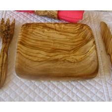 assiettes olivier 20x20 cm