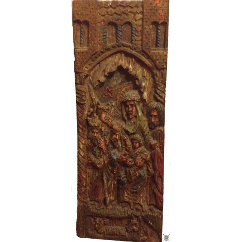 Bas-relief médiéval pièce unique