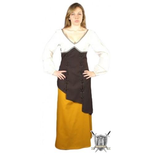 vêtement médiéval femme Valkirie