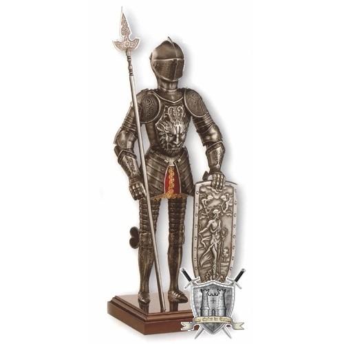 armure de chevalier à la chimère