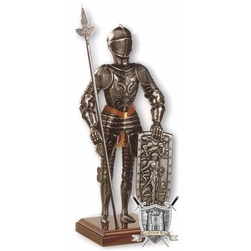 armure chevalier aux aigles