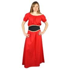 vêtement médiéval femme Gisla