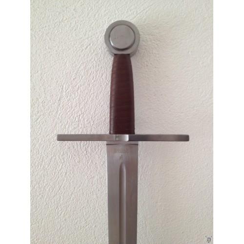 Epée  medievale de combat acier de Tolède