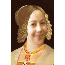 portrait 4 Dame de cour