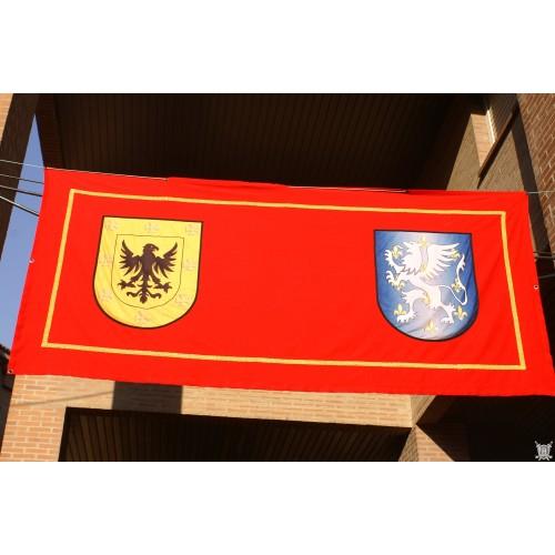 bannière de balcon 300x150 cm