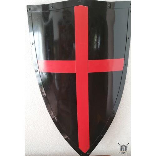 bouclier croix rouge