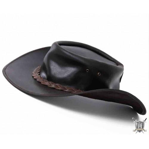 chapeau cuir