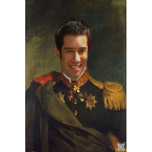 portrait de général