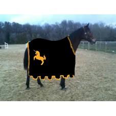 caparaçon chevalier noir
