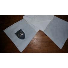 gants en cuir avec initiales