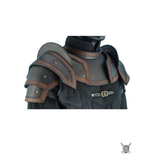 Armure protéction du corps supérieur cuir
