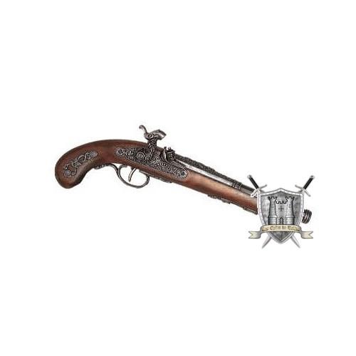 pistolet français flibustier à amorces