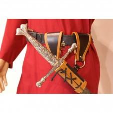 Baudrier épée médiévale réglable
