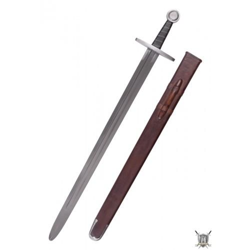 Epée médiévale de combat avec fourreau