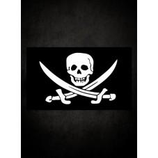 Drapeau pirate Jack sparrow