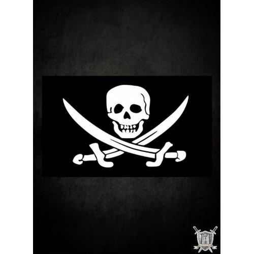 Drapeau pirate Jack Rackam