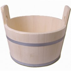 bassine bois 15 litres