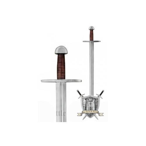 Epée normande de combat et fourreau