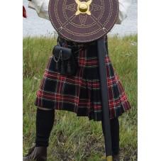 Kilt écossais rouge