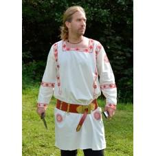 Tunique romaine manches longues brodée