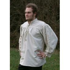chemise à cordons