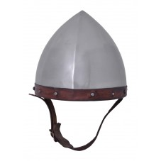 Casque  Archer, acier 1,6 mm intérieur cuir