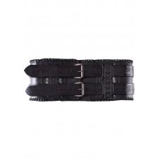Double ceinture cuir