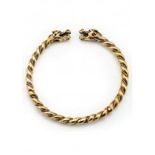 Bracelet viking au dragon
