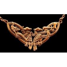 collier celtique en bronze