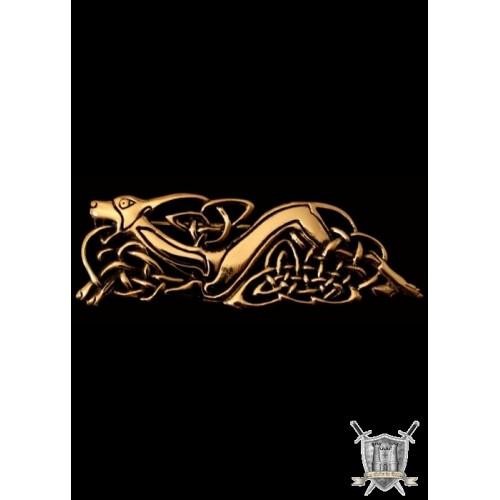 Fermoir de capeavec motif celtique bronze