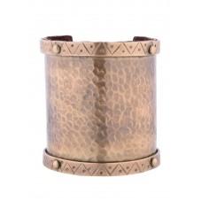 Large bracelet en laiton