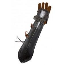 Avzant-bras protéction acier et cuir