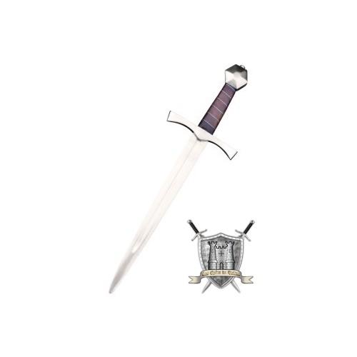 Dague médiévale avec son fourreau