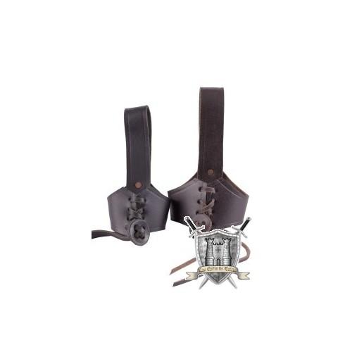 Porte corne à boire pour ceinture