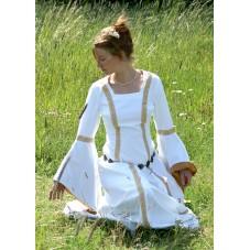 Robe médiévale de mariée 100% coton
