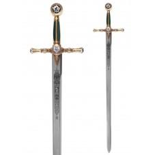 Epée maçonnique or
