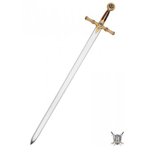Epée maçonnique or sans gravure