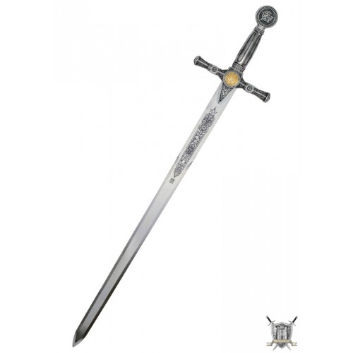 Epée maçonnique courte argent